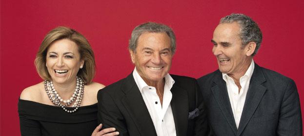 Arturo Fernandez, Sonia Castelo y Carlos Manuel Díaz forman Los hombres no mienten en el Teatro Amaya de Madrid