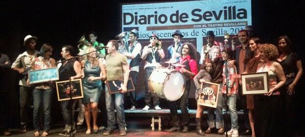 Premios escenarios Sevilla 2011