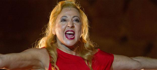 Juicio a una Zorra, escrita por Miguel del Arco expresamente para Carmen Machi