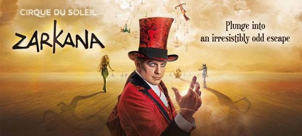 Zarkana, la nueva producción de 'El Circo del Sol' llegará a Madrid el próximo 12 de noviembre