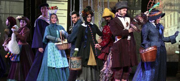 El musical 'El último jinete' se estrena en los Teatros del Canal de Madrid donde estará hasta el día 6 de enero