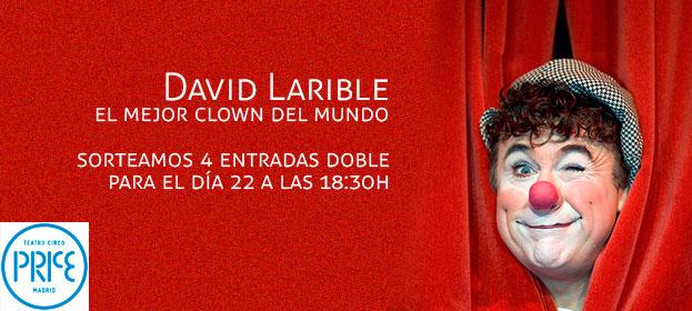 Participa en el sorteo de 4 entradas dobles para el día del estreno (22 de febrero a las 18:30h) en el Teatro Circo Price de Madrid. Participar.