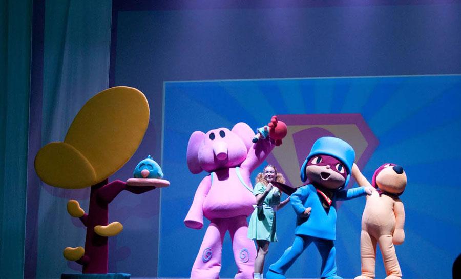 Musical Pocoyo y sus amigos