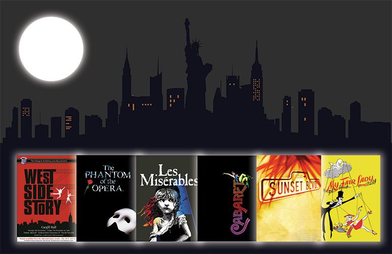 Nit de musicals Una nit a Broadway
